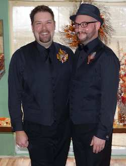 Ryan and his husband, Jarrod