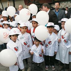 Iranian Hemophilia Society kids