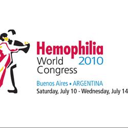 Hemophilia World Congress logo