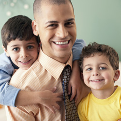 Father with two sons with hemophilia and inhibitors