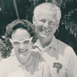 Betty Jane and Bob Henry, co-founders of the National Hemophilia Foundation